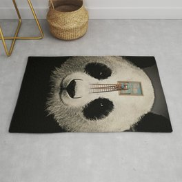 Panda window cleaner 03 Rug