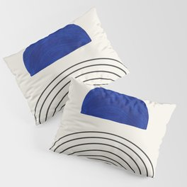 Illustrations Abstract Shapes Pillow Sham