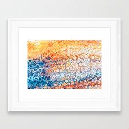 The Bright Side #abstract #digitalart Framed Art Print