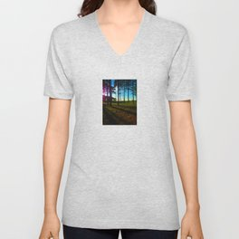 Light and Shadow Unisex V-Neck