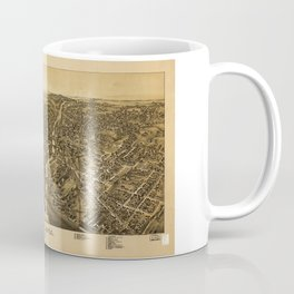 Aerial View of New Castle, Pennsylvania (1896) Coffee Mug