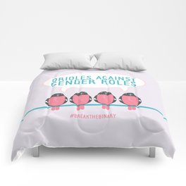 #BreakTheBinary (Orioles Against Gender Roles) Comforters