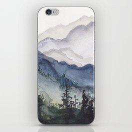 Mountains at Dawn iPhone Skin