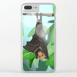 Pteropus Clear iPhone Case