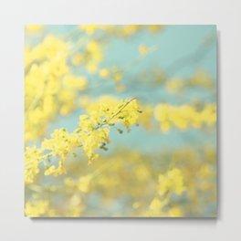 Sunny Blooms 2 Metal Print