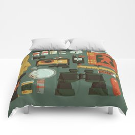 Cryptid Hunting Comforters