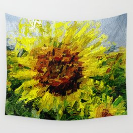 Sonnenblume Wall Tapestry