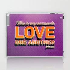 Love One Another! Laptop & iPad Skin