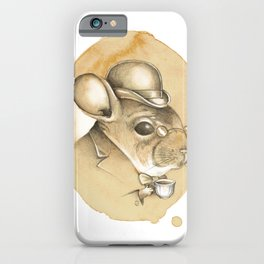 Gentleman Chinchilla iPhone Case