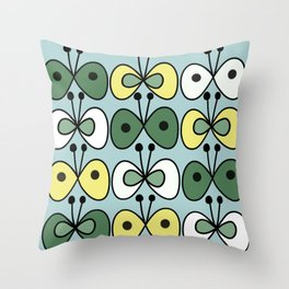 simply butterfly pattern Throw Pillow