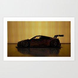GTS NSX studio Art Print