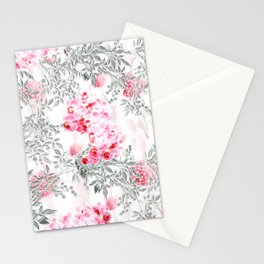 PINK ORCHIDS IN SPRING BLOOM Stationery Cards