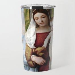 Titian Gypsy Madonna Travel Mug