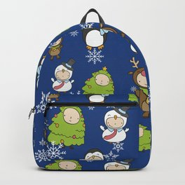 Children Christmas Costumes Pattern 2 Backpack