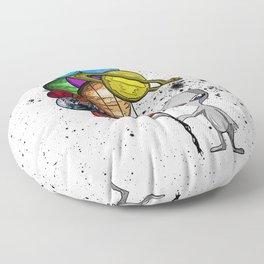 Casual Alien Floor Pillow