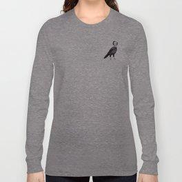 Edgar Allan Crow Long Sleeve T-shirt