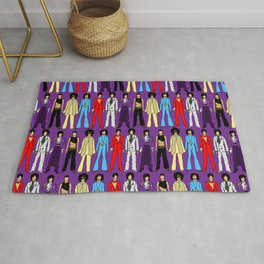 Purple Power Outfits Rug