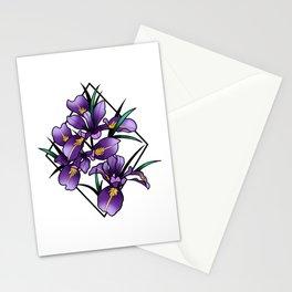Oregon iris Stationery Cards
