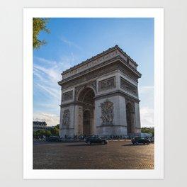 Arc de Triomphe V Art Print