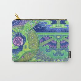 Dream of the fullmoon (mirrored version) Carry-All Pouch