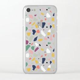 Big Terrazzo Clear iPhone Case