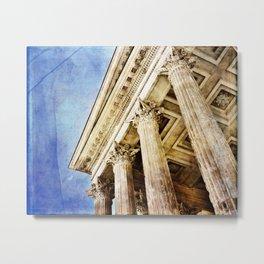 Ancient Roman Temple Metal Print