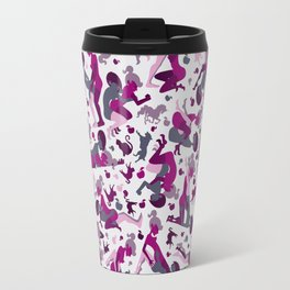 Deep Pink Travel Mug