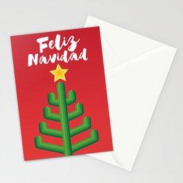 Feliz Navidad - Red Stationery Cards