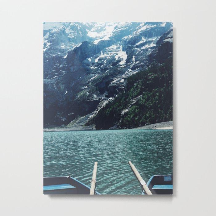 Boating Day Metal Print