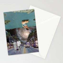The Mind on Tormented Tides Stationery Cards