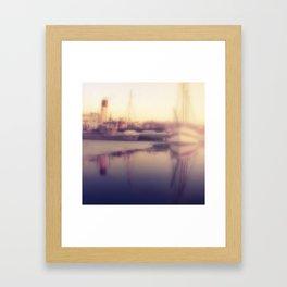 Stockholm Fog Framed Art Print