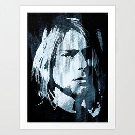 Kurt# Cobain#Nirvana Art Print