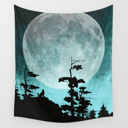 When Night Falls Wall Tapestry