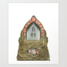 Sweet Home II // Polanshek Art Print