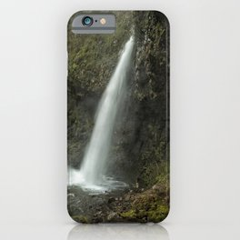 Upper Latourell Falls, No. 2 iPhone Case