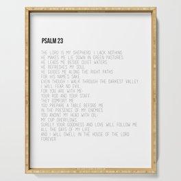 Psalm 23 #minimalist Serving Tray
