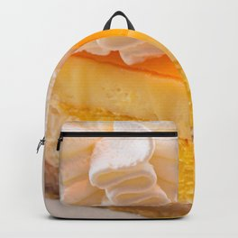 Cheesecake #food #dessert #sweets Backpack