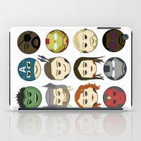 avenger iPad Cases featuring Avenger Emojis :) by Jozi