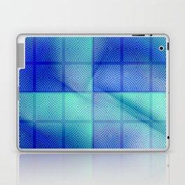 Blue shadows Laptop & iPad Skin