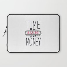 Time is Money Laptop Sleeve
