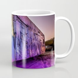 Light Painted Mobile Home Coffee Mug