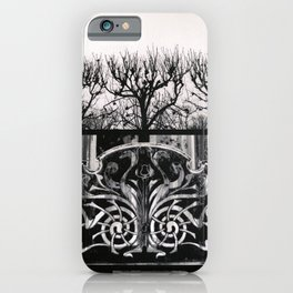 Seine Trees & Grill iPhone Case