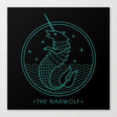 The Narwolf Canvas Print
