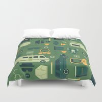 breaking Duvet Covers featuring Breaking Bad by Tracie Andrews