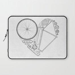 Love Bike (Grey) Laptop Sleeve