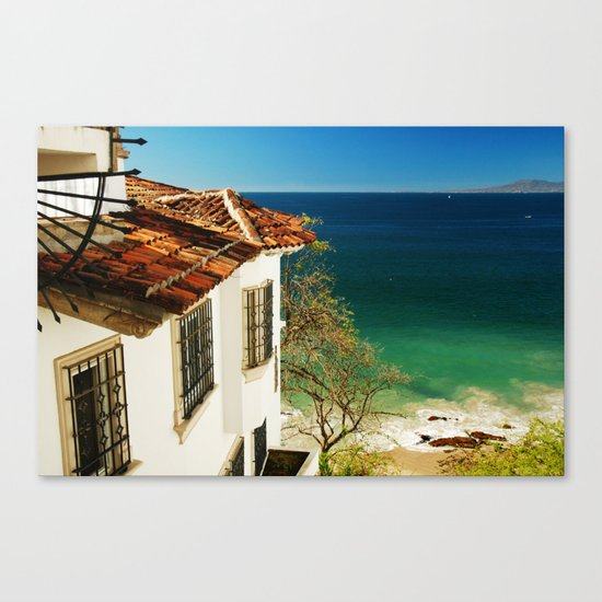 Puerto Vallarta, Mexico Canvas Print