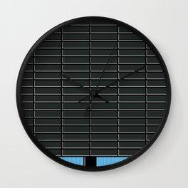 Cubo Negro -Detail- Wall Clock