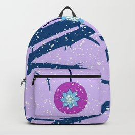 Mandala spinning top Backpack