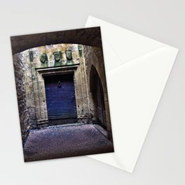 The secret behind the Medieval Blue Door Stationery Cards