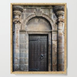 Edinburgh Mercat Cross Door Serving Tray